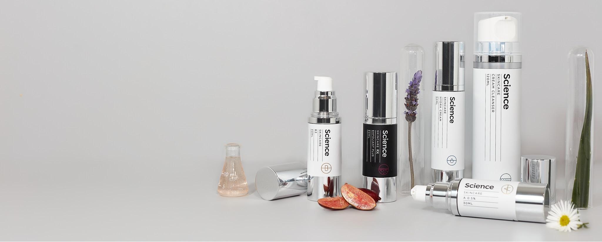 Science skin care botanical